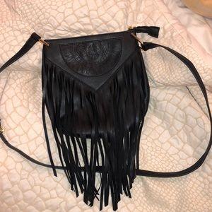 Nordstrom Urban Originals New Black Fringe Bag